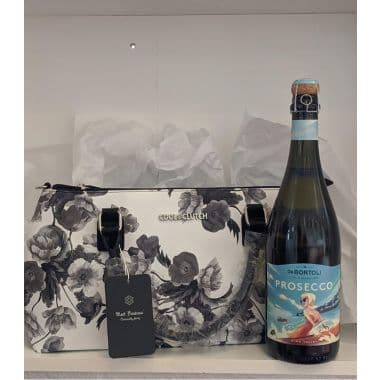 Cool Clutch and Prosecco Gift - Floral