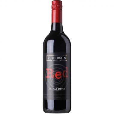 (12 Bottle Pack) RED Shiraz Durif 2015